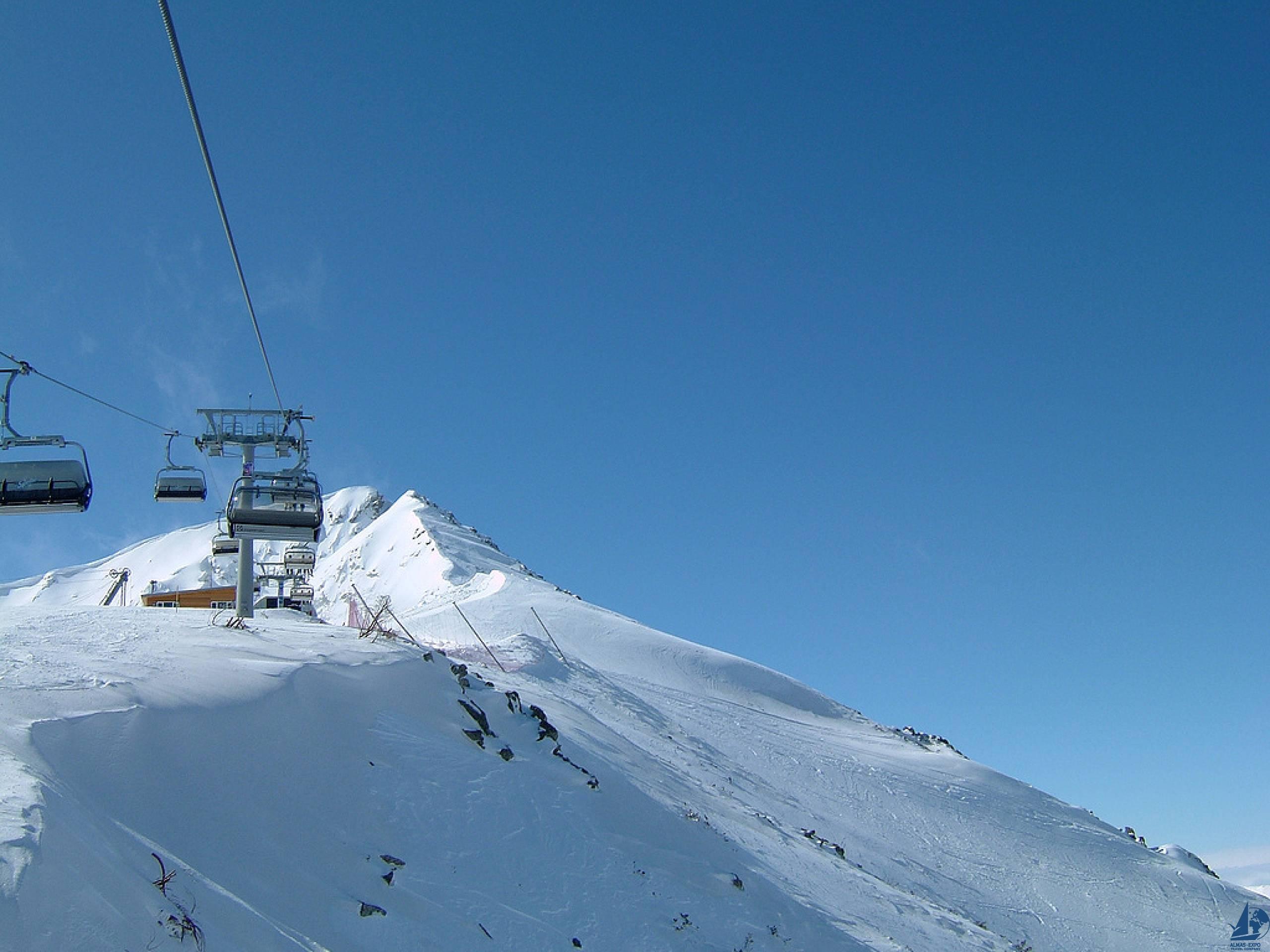горнолыжный курорт в банско болгария фото